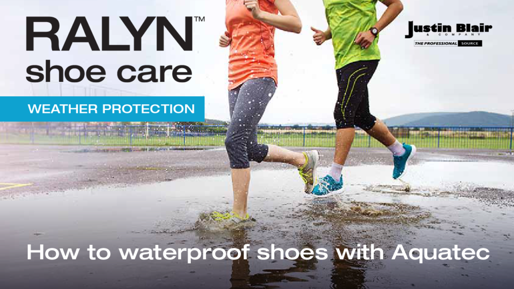 How to waterproof shoes with Aquatec