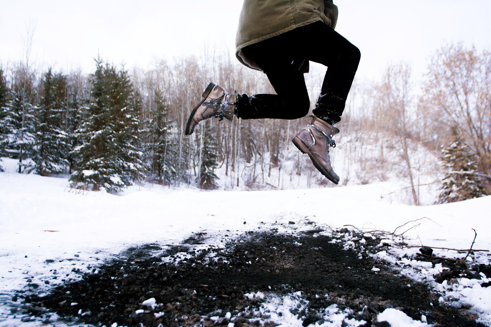 Holiday are here—jump for joy