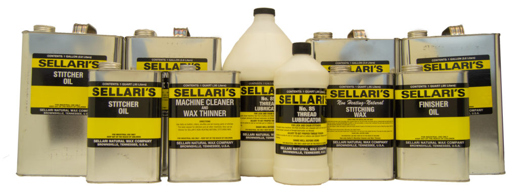 Full Line of Sellari Machine Oils and Cleaners